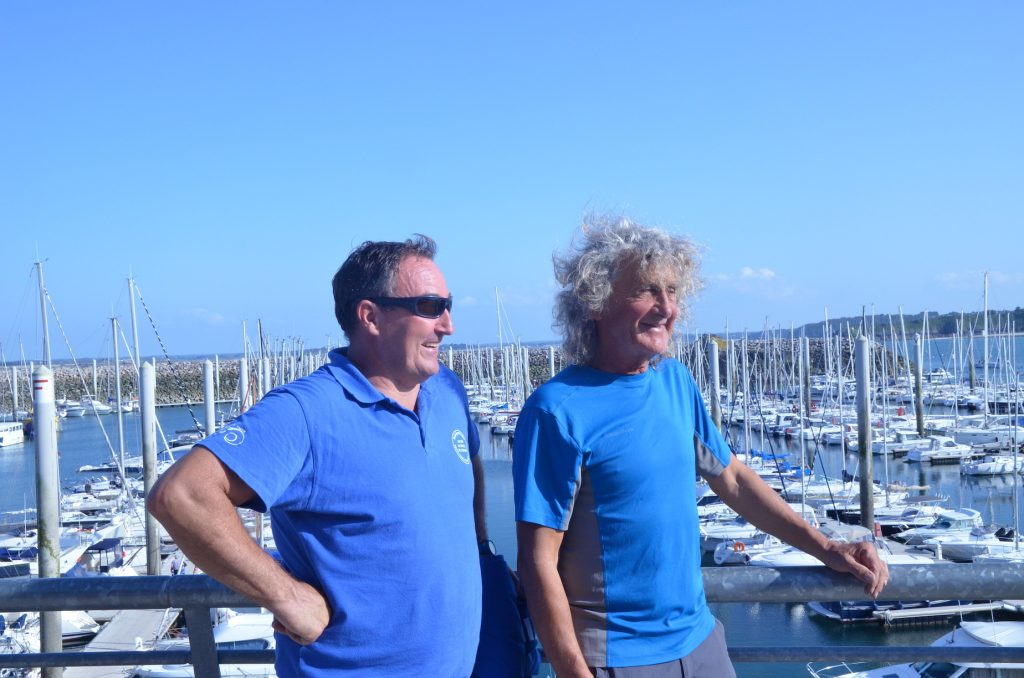 « Deux » skippers à la barre de Saint-Cast-Le-Guildo / Terre Exotique : Loïc et Jojo